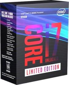 Intel Core i7-8086K Limited Edition, 6C/12T, 4.00-5.00GHz, boxed ohne Kühler (BX80684I78086K)