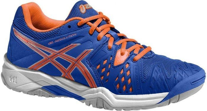 be5fde7bb5f5 Asics gel-resolution 6 GS blue flash orange silver (Junior) (C500Y ...