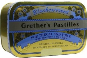 Grether's pastilles Blackcurrant, 440g