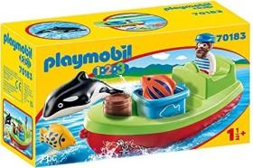 playmobil 1.2.3 - Seemann mit Fischerboot (70183)