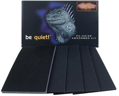 "be quiet! insulation mats for Chieftec Midi-Tower ""X""-series black (BGZ01)"