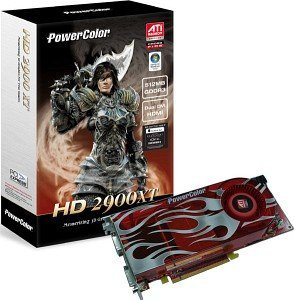 PowerColor Radeon HD 2900 XT, 1GB GDDR4, 2x DVI, ViVo, PCIe
