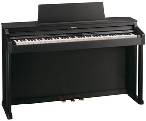 Roland HP305 black-satined