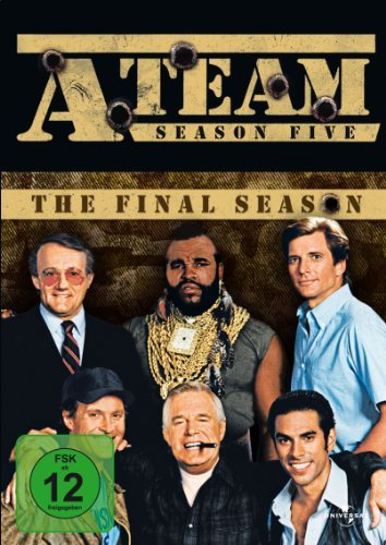 Das A-Team Season 5 -- via Amazon Partnerprogramm