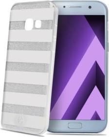 Celly Stripes für Samsung Galaxy A5 (2017) silber (STRIPES645SV)