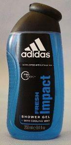 adidas Fresh Impact Shower gel 250ml -- © kosmetykimarkowe.pl