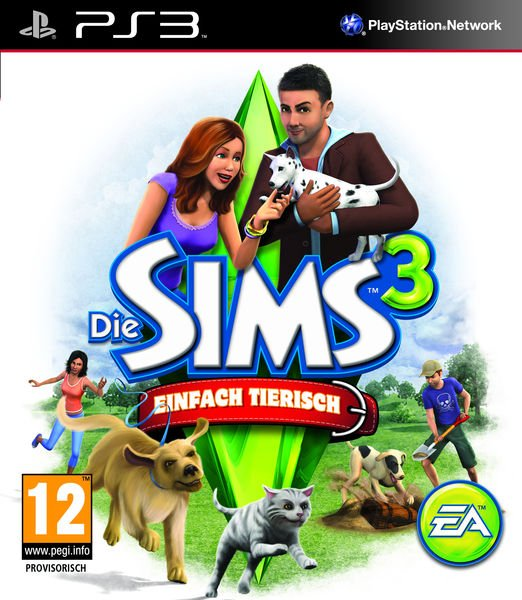 The Sims 3: Pets (englisch) (PS3)