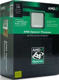 AMD Opteron 252, 1C/1T, 2.60GHz, boxed ohne Kühler (OSA252BLBOX/OSA252BLWOF)