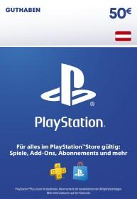Sony PlayStation Network Card - 50 Euro (PS3/PS4/PSVita/PSP)