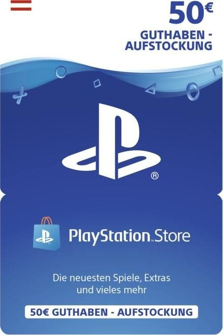 Sony PlayStation Network Card - 50 Euro (PS3/PS4/PSVita/PSP)