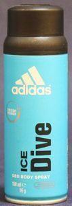 adidas Ice Dive Deodorant spray 150ml -- © kosmetykimarkowe.pl