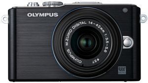 Olympus PEN E-PL3 (EVIL) black with lens M.Zuiko digital ED 12-50mm (V20503FBE000)