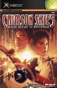 Crimson Skies - High Road to Revenge (deutsch) (Xbox)