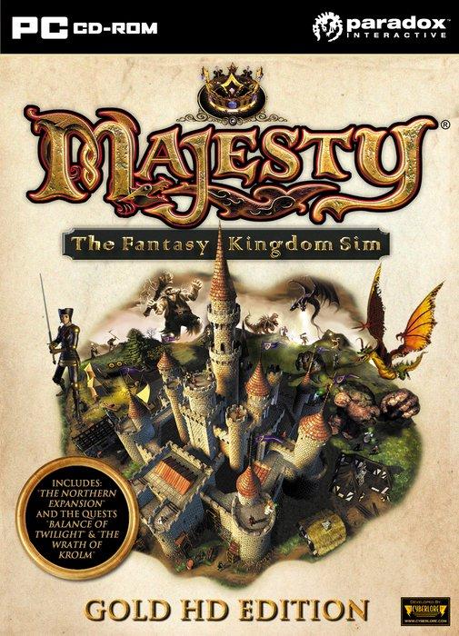 Majesty - The Fantasy Kingdom Sim: Gold Edition (englisch) (PC)