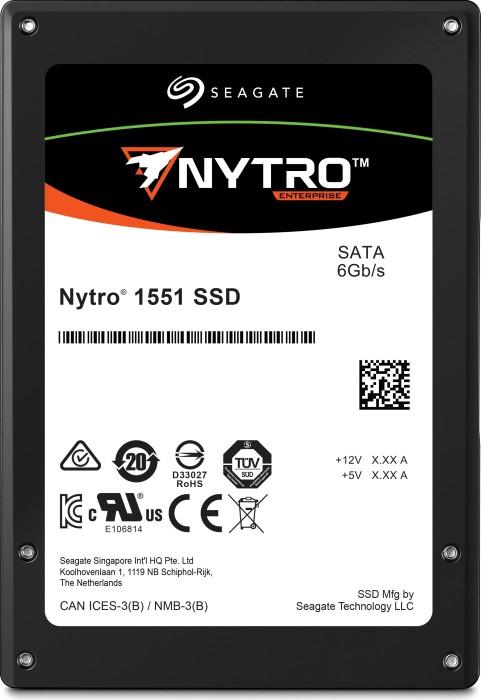 Seagate Nytro 1000-Series - 3DWPD 1551 DuraWrite Mainstream Endurance 240GB, SATA (XA240ME10003)