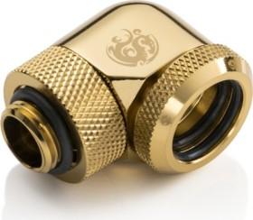 Bitspower Multi-Link Adapter 90° G1/4 auf 16mm, True Brass (BP-TBE90RML16)