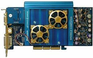 Sparkle SP7228PT Platinum, GeForce4 Ti4200 8X, 128MB DDR, DVI, VIVO, AGP