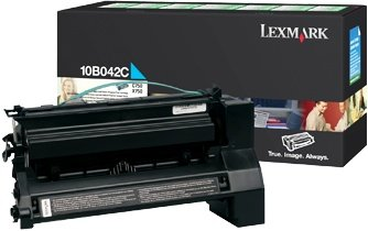 Lexmark 10B042C Toner cyan high capacity