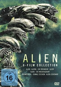 Alien Box (Filme 1-6) (DVD)