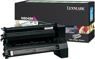 Lexmark 10B042M Return Toner magenta high capacity