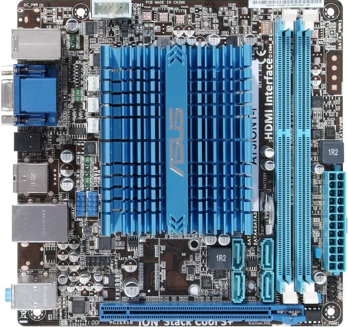 ASUS AT3IONT-I, GeForce 9400 (dual PC3-8500U DDR3) (90-MIBCT0-G0EAY0KZ)