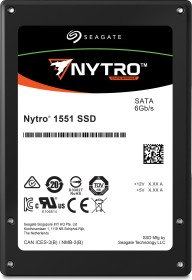 Seagate Nytro 1000-Series - 3DWPD 1551 DuraWrite Mainstream Endurance 480GB, TCG Opal, SATA (XA480ME10103)