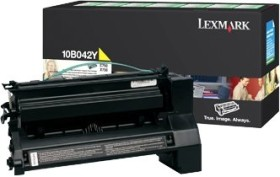 Lexmark Return Toner 10B042Y yellow high capacity
