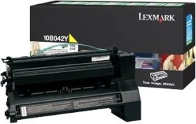 Lexmark Toner 10B042Y gelb hohe Kapazität