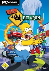 The Simpsons Hit & Run (niemiecki) (PC)