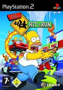 The Simpsons Hit & Run (German) (PS2)