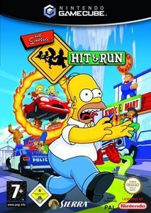 The Simpsons Hit & Run (niemiecki) (GC)