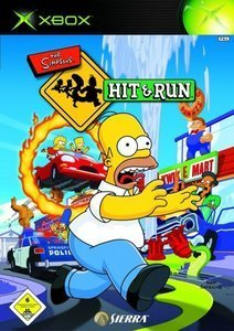 The Simpsons - Hit & Run (German) (Xbox) (9333)