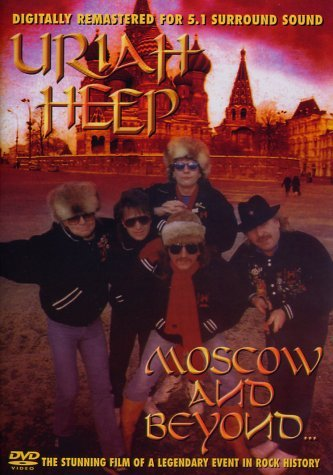 Uriah Heep - Moscow and Beyond -- via Amazon Partnerprogramm