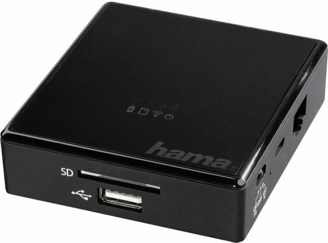 Hama Wi-Fi Single-Slot-Cardreader, 2.4GHz WLAN, USB 2.0 Micro-B [Buchse] (123936)