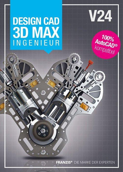 Franzis Design CAD 3D Max V24 Ingenieur (deutsch) (PC)