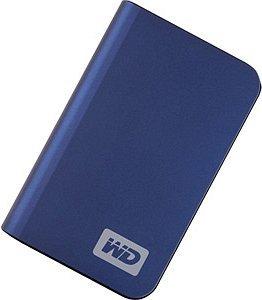 Western Digital WD My Passport elite blue 250GB, USB 2.0 (WDMLB2500TE)