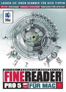 Abbyy: FineReader 5.0 Professional (niemiecki) (MAC)