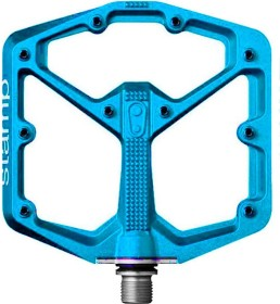 CrankBrothers Stamp 7 Large LE Pedale electric blue