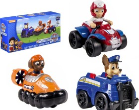 Spin Master Paw Patrol Rescue Racers - Set: Chase, Zuma, Ryder (6024059)