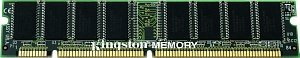 Kingston ValueRAM DIMM     128MB, SDR-133, CL3, reg ECC  (KVR133X72RC3/128)