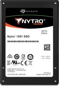 Seagate Nytro 1000-Series - 3DWPD 1551 DuraWrite Mainstream Endurance 3.84TB, SATA (XA3840ME10063)