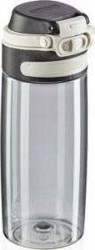 Leifheit Tritan Flip 550ml silver Trinkflasche (03262)