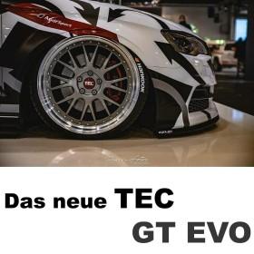 TEC Speedwheels GT EVO 8.5x19 5/114.3 ET45 (verschiedene Farben)