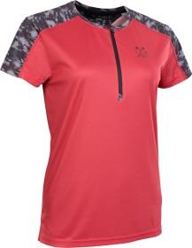 ION Traze Half Zip Trikot kurzarm pink isback (Damen) (47203-5068-424)