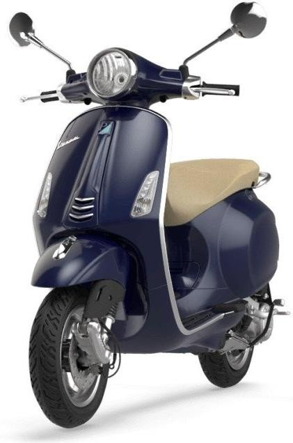 vespa primavera 50 4t 4v blue skinflint price comparison uk. Black Bedroom Furniture Sets. Home Design Ideas