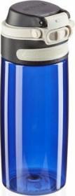 Leifheit Tritan Flip 550ml dunkelblau Trinkflasche (03265)