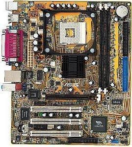 ASUS P4V533-MX, VT8751, µATX, audio, LAN, VGA (DDR)