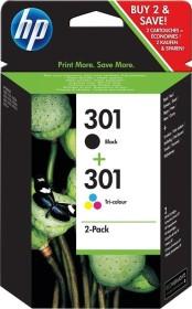 HP Druckkopf mit Tinte 301 schwarz/dreifarbig Kombipack (CR340EE / N9J72AE)