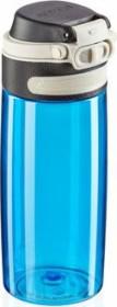 Leifheit Tritan Flip 550ml light blue Trinkflasche (03266)