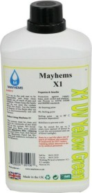 Mayhems X1 UV Yellow Green, coolant, 1000ml (MX1UVYG1000)